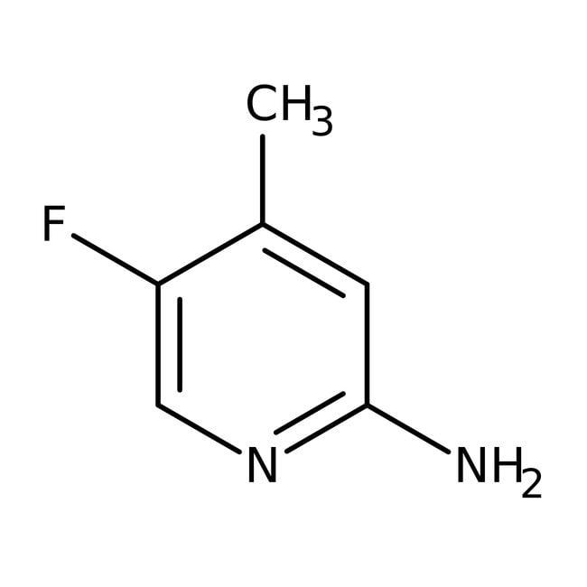 Alfa Aesar™2-Amino-5-fluoro-4-méthylpyridine, 95% 1g Alfa Aesar™2-Amino-5-fluoro-4-méthylpyridine, 95%