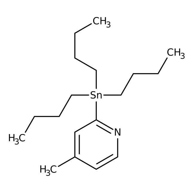 Alfa Aesar™4-Methyl-2-(tri-n-butylstannyl)pyridine, 96% 1g Alfa Aesar™4-Methyl-2-(tri-n-butylstannyl)pyridine, 96%