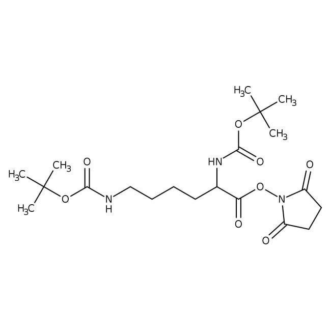 Alfa Aesar™Nalpha,Nepsilon-Di-Boc-L-Lysin N-Succinimidylester, 97% 25g Alfa Aesar™Nalpha,Nepsilon-Di-Boc-L-Lysin N-Succinimidylester, 97%