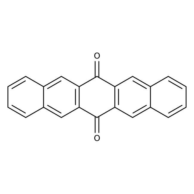 6,13-Pentacenequinone, 99%, ACROS Organics™ 5g; Glass bottle 6,13-Pentacenequinone, 99%, ACROS Organics™