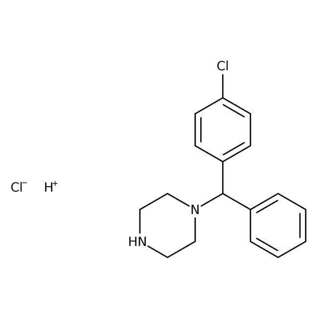 Alfa Aesar™1-(4-Chlorobenzhydryl)piperazine, tech. 90%