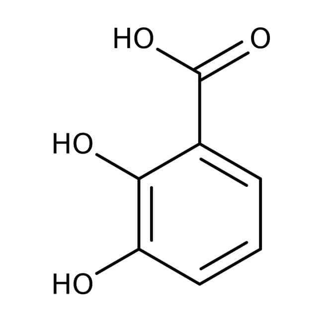 2,3-Dihydroxybenzoic acid, 99%, ACROS Organics™ 25g; Glass bottle 2,3-Dihydroxybenzoic acid, 99%, ACROS Organics™