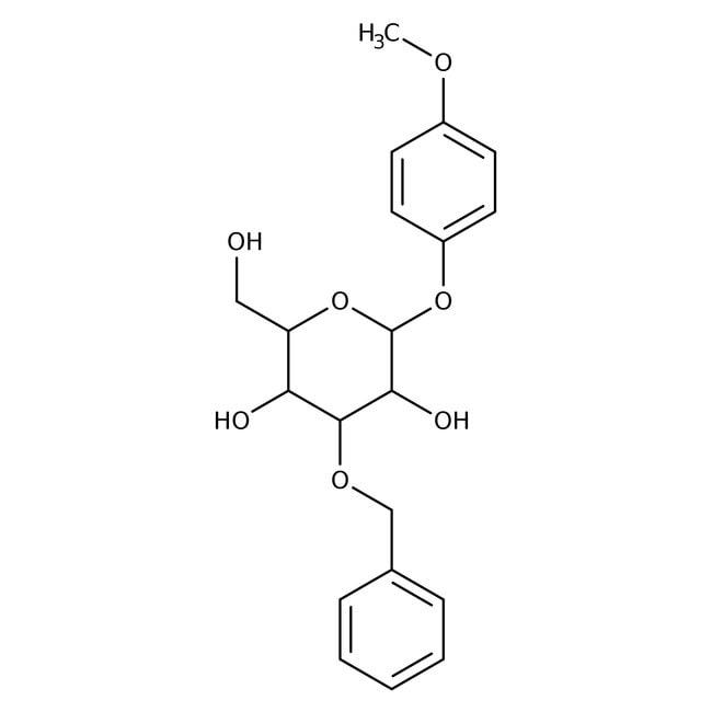 4-Methoxyphenyl 3-O-Benzyl-beta-D-glucopyranoside 98.0 %, TCI America