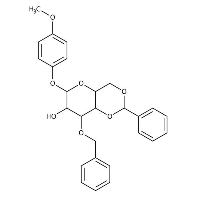4-Methoxyphenyl 3-O-Benzyl-4,6-O-benzylidene-beta-D-glucopyranoside 98.0+%, TCI America™