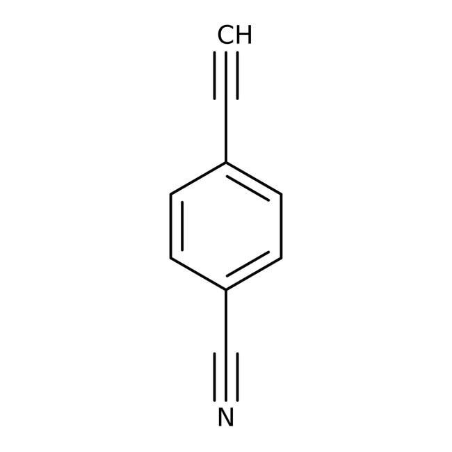 Alfa Aesar™4-Ethynylbenzonitrile, 97% 1g Alfa Aesar™4-Ethynylbenzonitrile, 97%