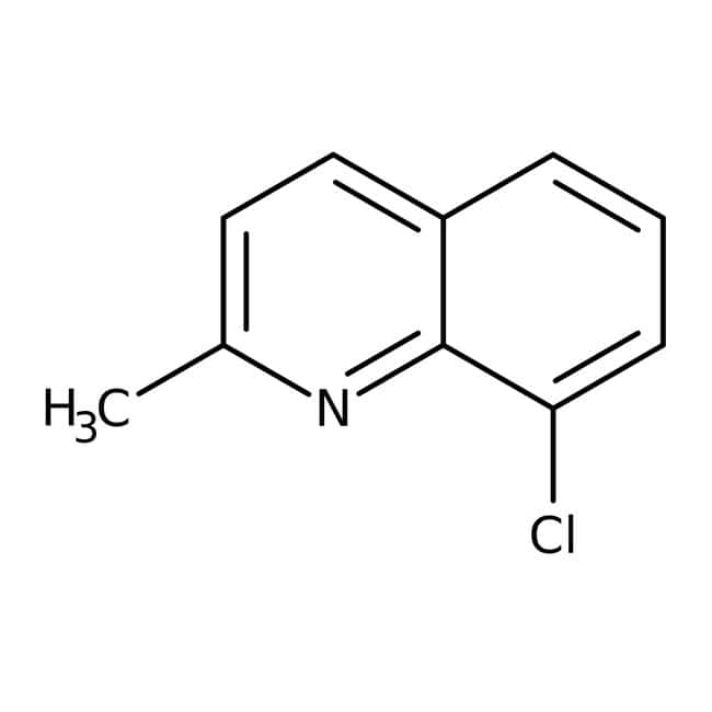 Alfa Aesar™ 8-Chloro-2-methylquinoline, 98%: Chemicals Products