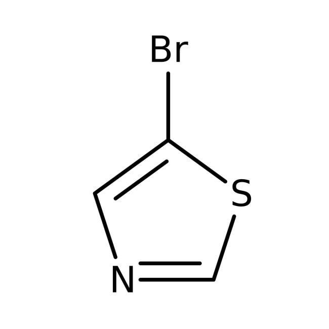 5-Bromothiazole, 95%, ACROS Organics™ 1g; Glass bottle 5-Bromothiazole, 95%, ACROS Organics™