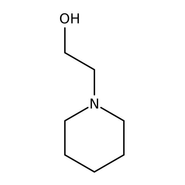 N-Piperidineethanol, 99%, ACROS Organics™: Alkanolamines Amines