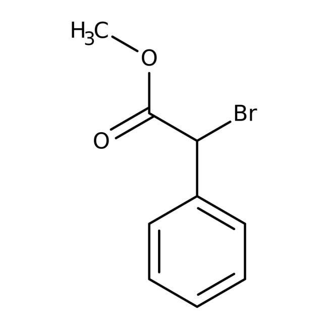 Alfa Aesar™Methyl alpha-bromophenylacetate, 97% 5g Alfa Aesar™Methyl alpha-bromophenylacetate, 97%