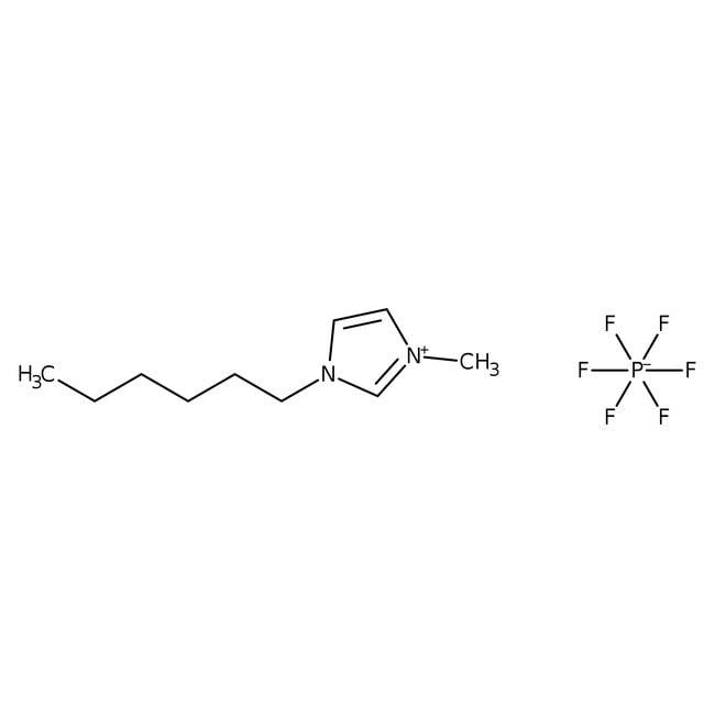 1-Hexyl-3-methylimidazolium hexafluorophosphate, 99%, ACROS Organics™ 25g 1-Hexyl-3-methylimidazolium hexafluorophosphate, 99%, ACROS Organics™