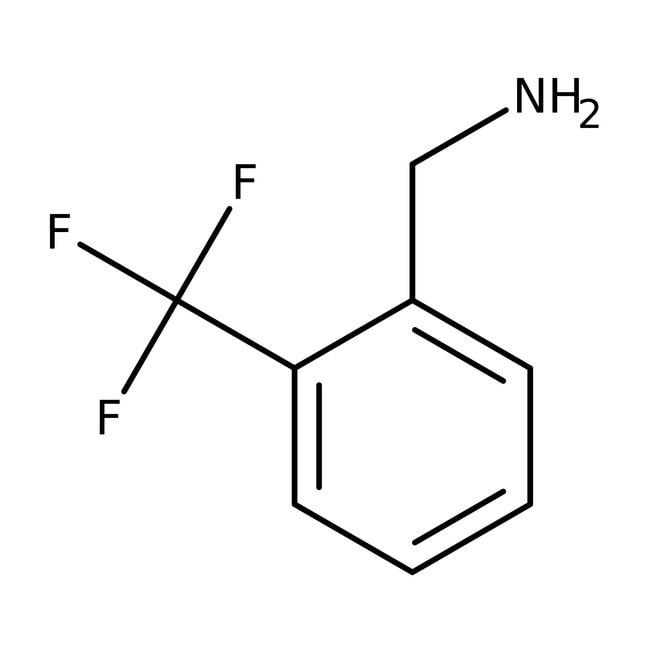 2-(Trifluoromethyl)benzylamine, 98%, ACROS Organics™ 1g 2-(Trifluoromethyl)benzylamine, 98%, ACROS Organics™