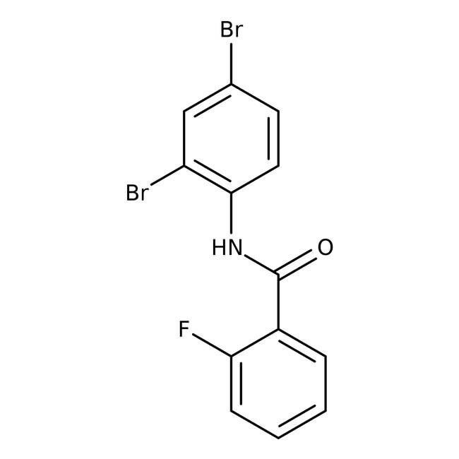 Alfa Aesar™N-(2,4-Dibromophenyl)-2-fluorobenzamide, 97% 1g Alfa Aesar™N-(2,4-Dibromophenyl)-2-fluorobenzamide, 97%