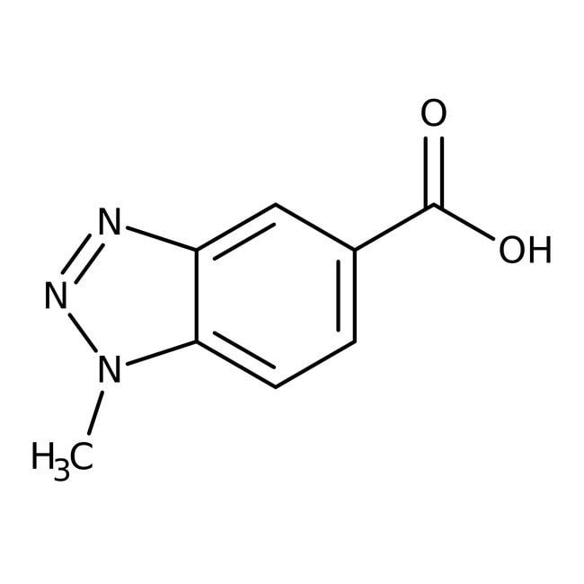1-Methyl-1H-1,2,3-benzotriazole-5-carboxylic acid, 97%, Maybridge