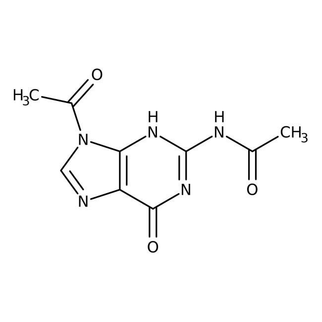 2,9-Diacetylguanine, 96%, ACROS Organics™ 25g 2,9-Diacetylguanine, 96%, ACROS Organics™