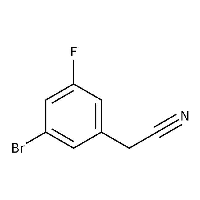 Alfa Aesar™3-Bromo-5-fluorophenylacetonitrile, 96%