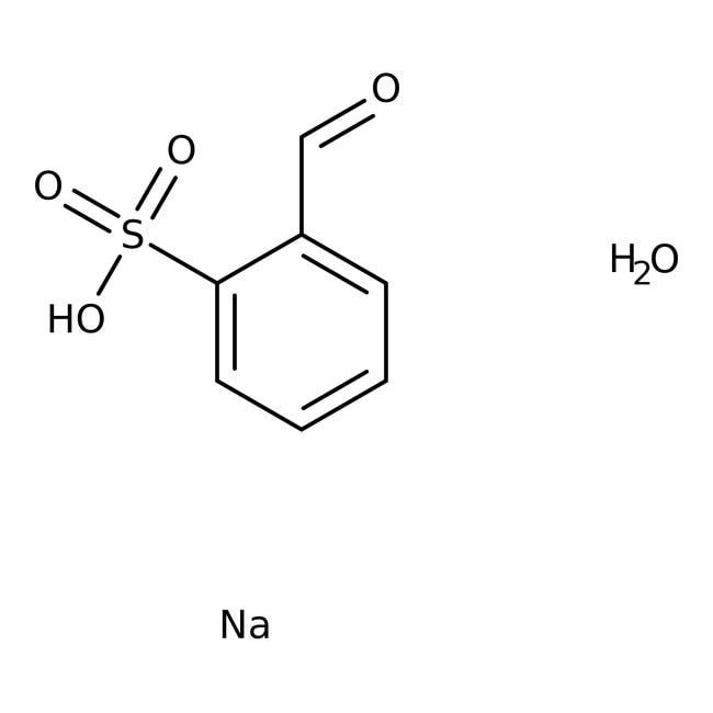 Alfa Aesar™2-Formylbenzenesulfonic acid sodium salt hydrate, tech. 90%