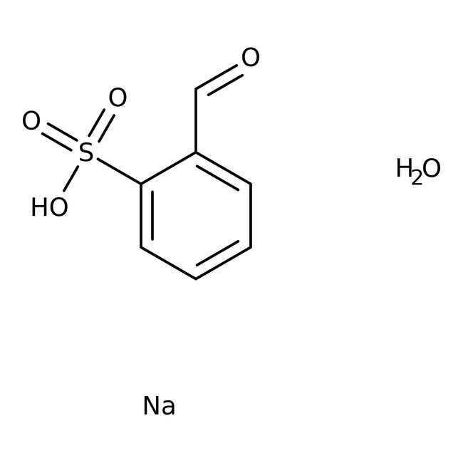 Alfa Aesar™2-Formylbenzenesulfonic acid sodium salt hydrate, tech. 90% 250g Alfa Aesar™2-Formylbenzenesulfonic acid sodium salt hydrate, tech. 90%