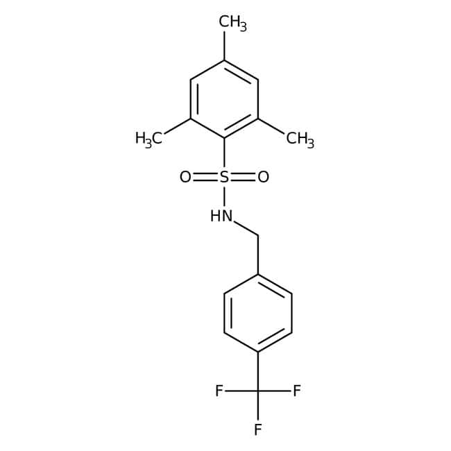 2,4,6-Trimethyl-N-[4-(trifluoromethyl)benzyl]benzenesulfonamide, 97%, Alfa Aesar™