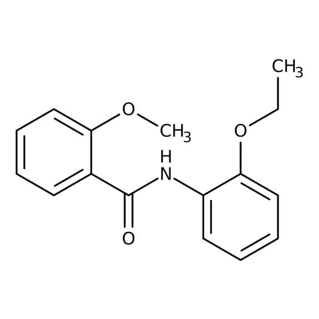 Alfa Aesar™N-(2-Ethoxyphenyl)-2-Methoxybenzamid, 97% 1g Alfa Aesar™N-(2-Ethoxyphenyl)-2-Methoxybenzamid, 97%