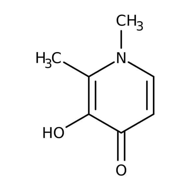 1,2-Dimethyl-3-hydroxy-4-pyridone, 99+%, ACROS Organics™