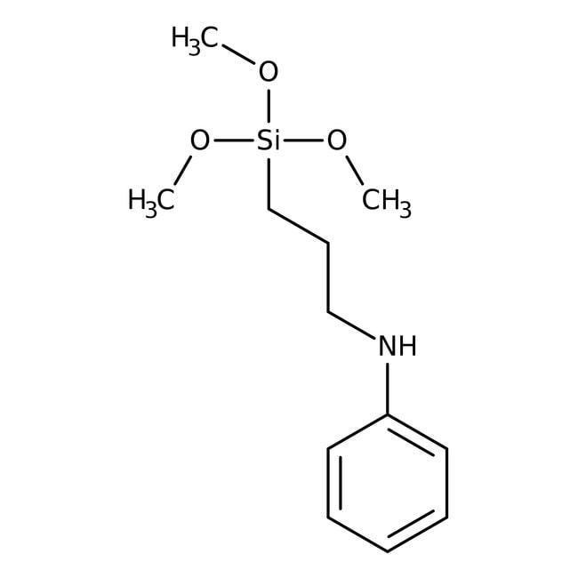 Alfa Aesar™3-(Phenylamino)propyltrimethoxysilane, 96%: Other Inorganic Compounds Chemicals