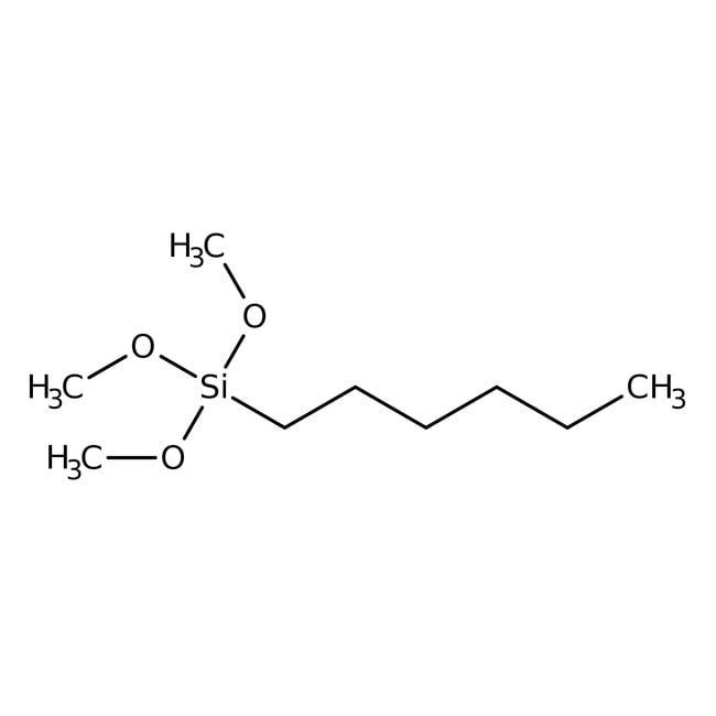 Hexyltrimethoxysilane 98.0 %, TCI America