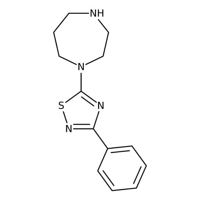 5-(1,4-Diazepan-1-yl)-3-phenyl-1,2,4-thiadiazole, 97%, Maybridge™