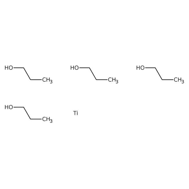 Alfa Aesar™Titanium(IV) n-propoxide, VERTEC™ NPT, 98+%