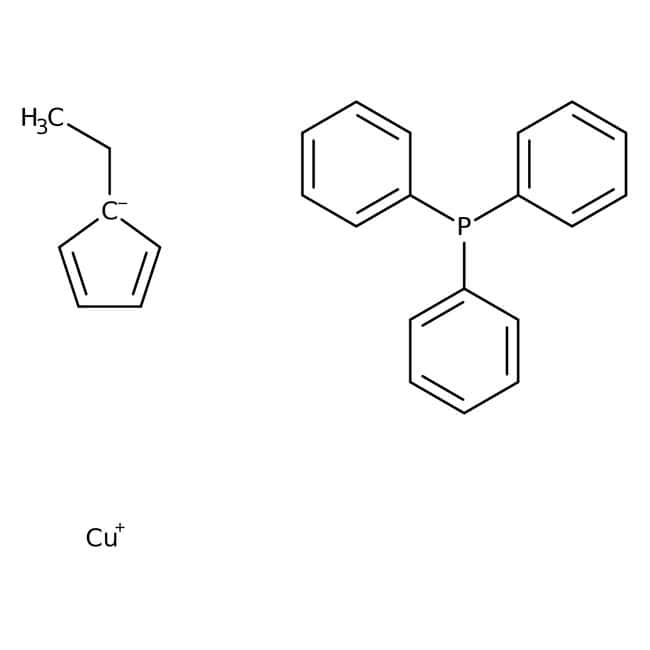 (Ethylcyclopentadienyl)(triphenylphosphine) copper(I), ACROS Organics