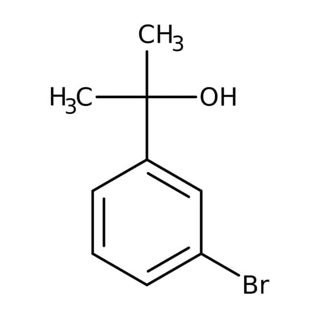 2-(3-Bromophenyl)propan-2-ol, 97%, ACROS Organics™ 5g 2-(3-Bromophenyl)propan-2-ol, 97%, ACROS Organics™