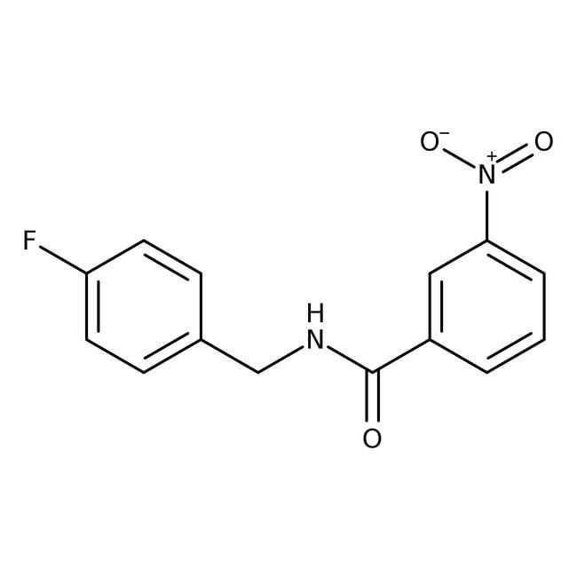 Alfa Aesar™N-(4-Fluorobenzyl)-3-nitrobenzamide, 97% 1g Ver productos