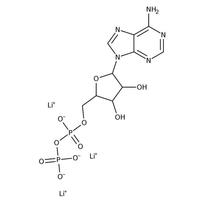 Adenosine-5'-diphosphate trilithium salt, 96 to 99%, For HPLC analysis, MP Biomedicals™