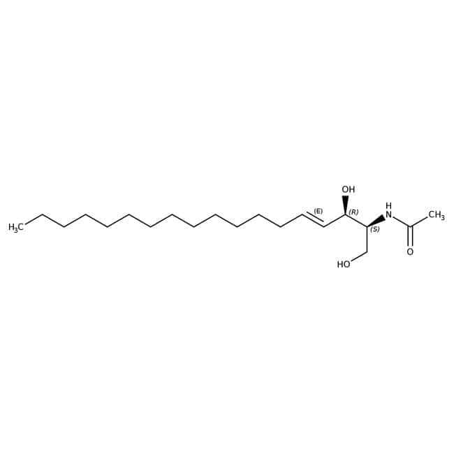 N-Ethanoyl-D-erythro-sphingosine, synthetical, 99+%, ACROS Organics