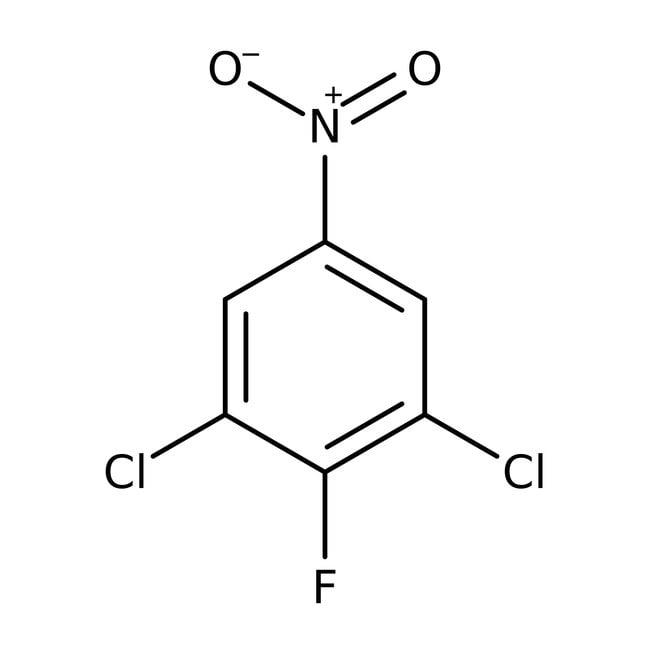 Alfa Aesar™3,5-Dichloro-4-fluoro-1-nitrobenzene, 95% 100g Alfa Aesar™3,5-Dichloro-4-fluoro-1-nitrobenzene, 95%