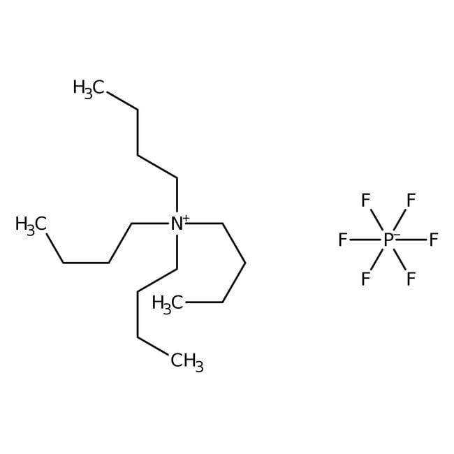 Tetra-n-butylammonium hexafluorophosphate, 98%, ACROS Organics