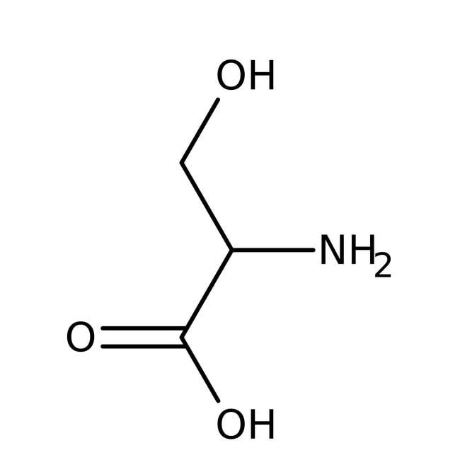 D-Serine, 98%, ACROS Organics™ 5g; Glass bottle D-Serine, 98%, ACROS Organics™