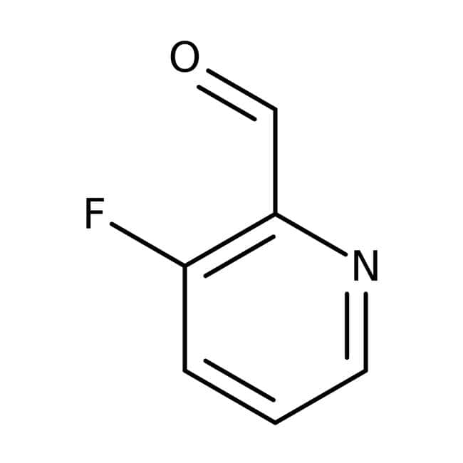 3-fluoropyridine-2-carboxaldéhyde, 97 %, Maybridge Flacon en verre ambré ; 250 mg 3-fluoropyridine-2-carboxaldéhyde, 97 %, Maybridge