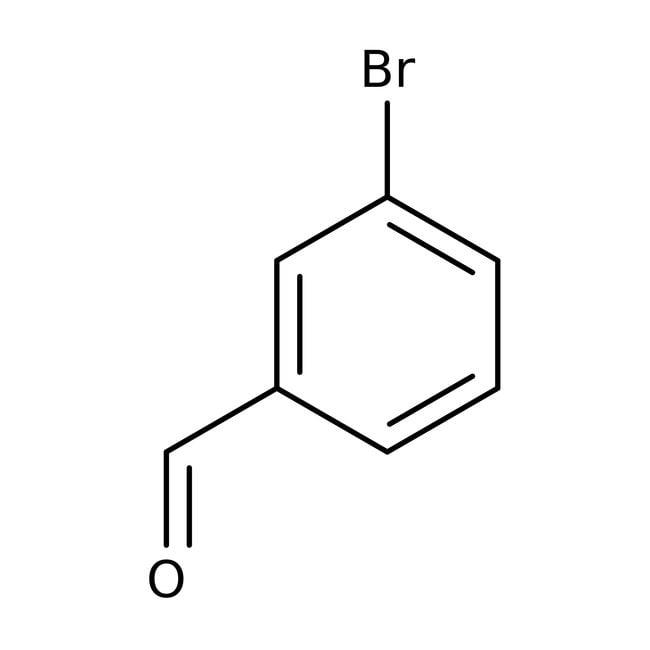 Alfa Aesar™3-Bromobenzaldehído, 97% 25g Alfa Aesar™3-Bromobenzaldehído, 97%
