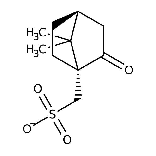 D(+)-10-Camphorsulfonic acid, 99%, ACROS Organics™ 500g; Plastic bottle D(+)-10-Camphorsulfonic acid, 99%, ACROS Organics™