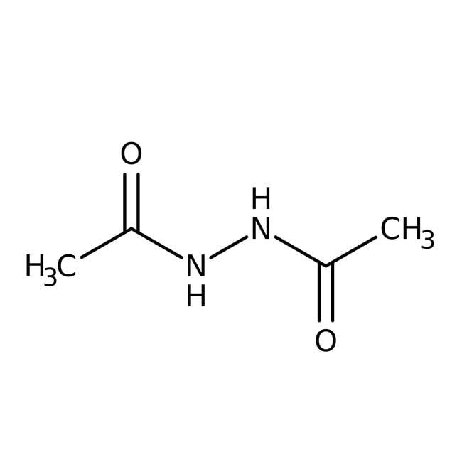 Alfa Aesar™N,N'-Diacetylhydrazin, 98%: Hydrazines and derivatives Organonitrogen compounds
