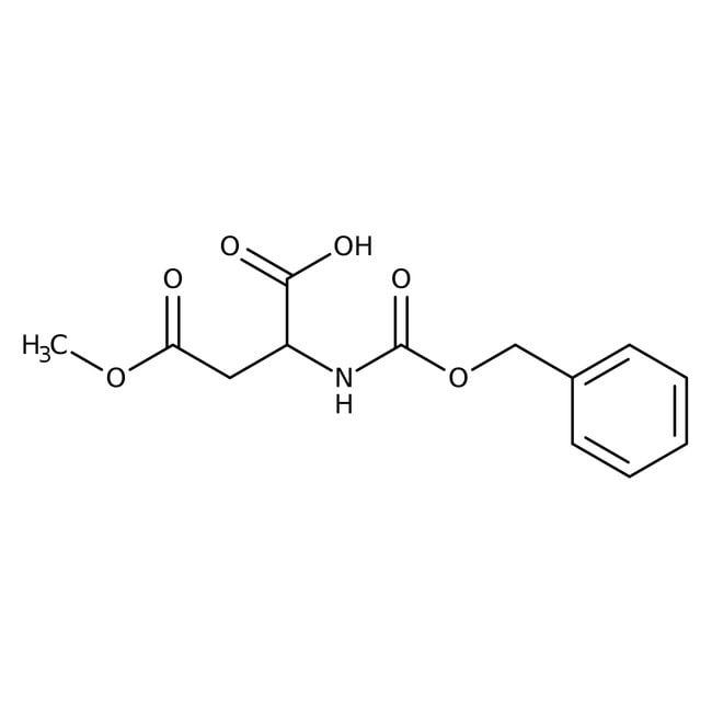 Alfa Aesar™N-Benzyloxycarbonyl-L-aspartic acid 4-methyl ester, 98% 5g Alfa Aesar™N-Benzyloxycarbonyl-L-aspartic acid 4-methyl ester, 98%