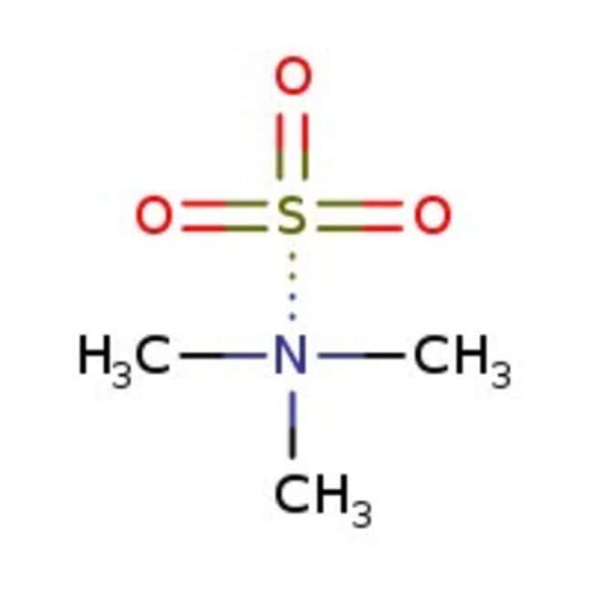 Sulfur trioxide trimethylamine complex, 95%, ACROS Organics™ 25g; Glass bottle Sulfur trioxide trimethylamine complex, 95%, ACROS Organics™