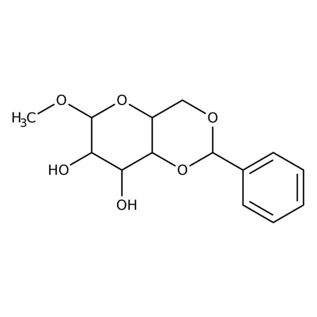 Methyl 4,6-O-Benzylidene-alpha-D-glucopyranoside 98.0+%, TCI America™