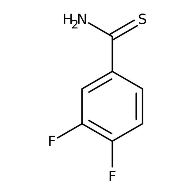 Alfa Aesar™3,4-Difluorothiobenzamide, 97%