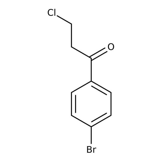 Alfa Aesar™4'-Bromo-3-cloropropiofenona, 94% 250g Alfa Aesar™4'-Bromo-3-cloropropiofenona, 94%