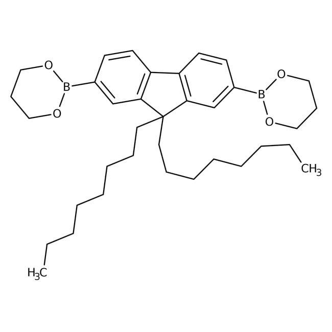 Alfa AesarTM 99 Di N Octylfluorene 27 Diboronic Acid Bis13 Propanediol Ester 97