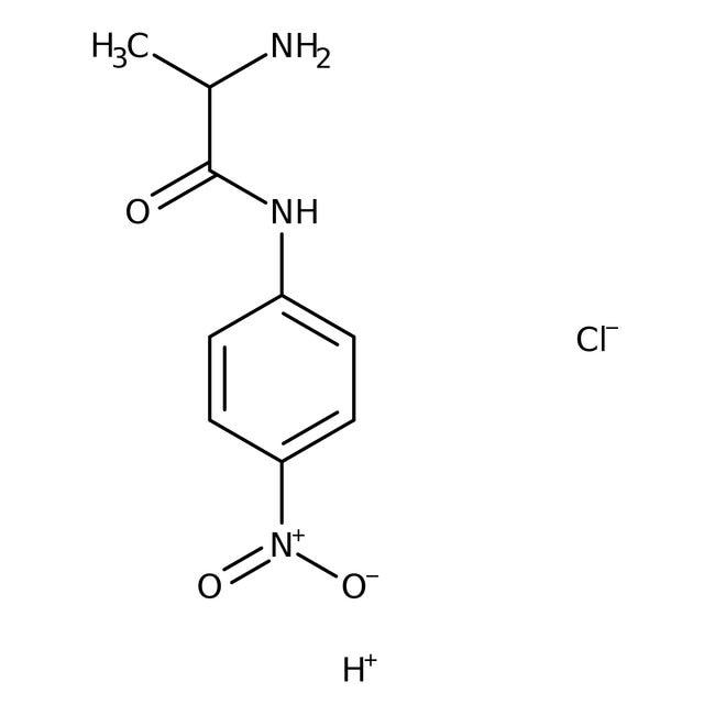 Alfa Aesar™L-Alanine 4-nitroanilide hydrochloride, 98% 1g Alfa Aesar™L-Alanine 4-nitroanilide hydrochloride, 98%
