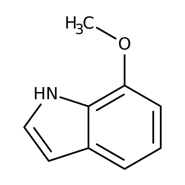 Alfa Aesar™7-Methoxyindole, 97% 25g Alfa Aesar™7-Methoxyindole, 97%