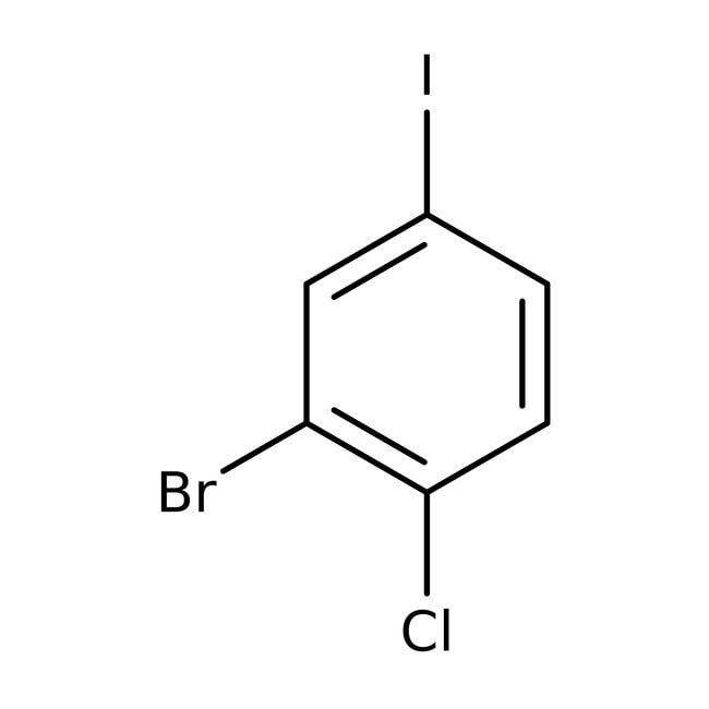 2-Bromo-1-chloro-4-iodobenzene, 98%, Acros Organics