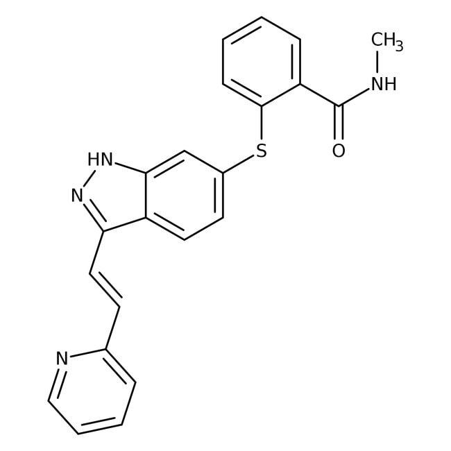 Axitinib, Tocris Bioscience™ 50mg Axitinib, Tocris Bioscience™